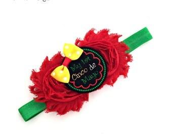 Cinco De Mayo Baby, Cinco De Mayo Bow, Cinco De Mayo, Fiesta Baby, Fiesta Hairbow, Fiesta Hair Bow, Fiesta Headband, Fiesta Bow