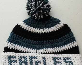 EAGLES Crochet Hat