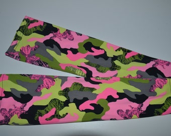 Camo - Pink/Olive sleeve