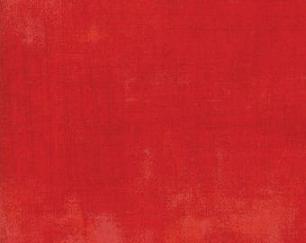 BerryMerry Scarlet Grunge designed by BasicGrey for Moda Fabric, 100% Premium Cotton