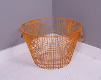 Children's Gold Wire Storage Basket - Children's Furniture