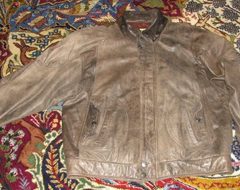 1990s Leather Jacket - Vintage Leather Jacket