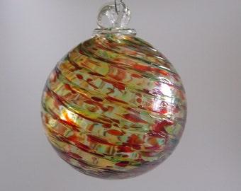 Hand Blown Glass Ornament - Friendship Ball