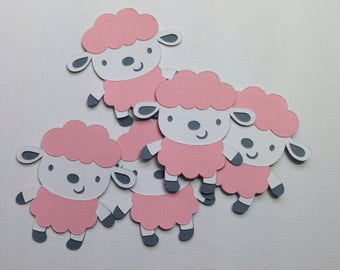 Baby Shower Decorations ~ Lamb Party Decor, Sheep Baby Shower, Farm Animal Party, Baby Shower Ideas, First Birthday Ideas, Party Supply