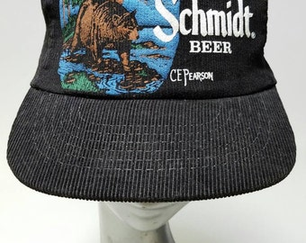 Free Shipping!! Schmidt Beer Bear Cap