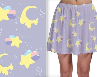 Pastel Galaxy Skirt~