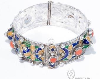 Delicate Algeria cuff - Berber bracelet - Great Kabylie bracelet - Amesluh - African bracelet - Algeria - Kabylie - gift for her - cuff OOAK