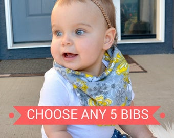 Baby Shower Gift Baby Bandana Bib Baby Bibs Drool Bibs Bibdana Baby Bibs Bandana Baby Bibs Handmade Bibs Toddler Bibs Dribble Bib