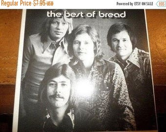 Save 30% Today Vintage 1973 LP Record Bread The Best of Bread Elektra Records 6E-108 Very Good Condition 5866