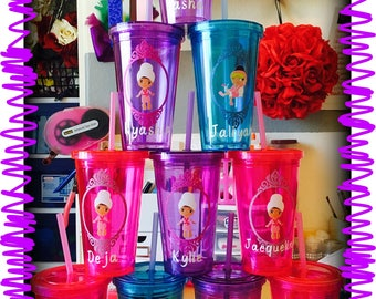 Spa Themed Tumbler Cups