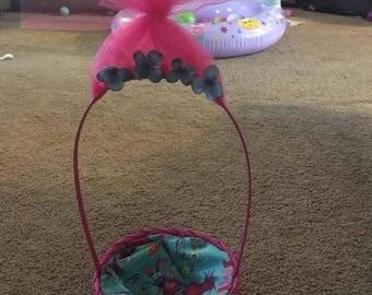 Mini Poppy Easter basket
