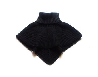 Adult's merino wool high neck scarf/turtleneck scarf/neck-warmer