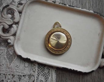 Swiss Made Clinton 17 Jewel Pocket Pendant Watch