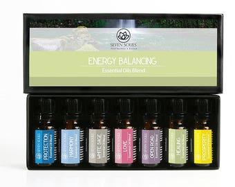 Energy Balance Natural Essential Oils Blend. Energy Balancing.  Reiki Sessions, Yoga, Meditation