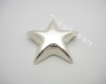 Tiffany & Co. Sterling Silver Star Pin or Brooch