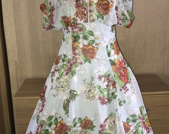 Vintage style 1950s Hell Bunny Rose dress