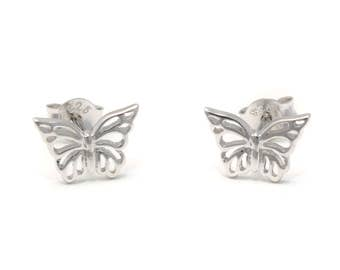Butterfly Stud Earrings