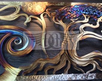Ocean Metal Wall Art