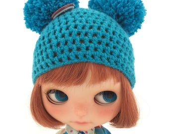 Blythe ball-ball hat dark blue