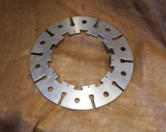 Steampunk Disc, Sprocket, or Gear, Industrial Chic Salvage