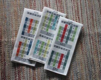 Know When to Fold 'Em Calendar Tea Towel