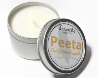 Hunger Games Inspired Fandom Candle - Peeta 4 oz