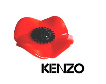 KENZO ~ Authentic Flower Poppy Ring