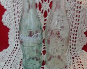 Vintage Coke Bottle Chinese Coke Bottle Collectible Vintage Chinese Coca Cola Bottle and Reg Coke Vintage Bottle