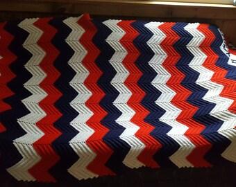 Small American Flag Crochet Pattern : Crochet pattern vtg Etsy