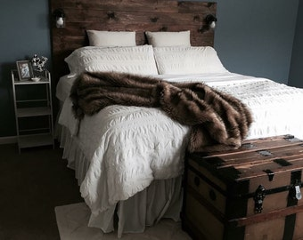 Rustic Headboard ***local pick up only***
