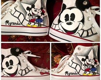 Custom painted Disney Vans. Designed and personalized just for you!