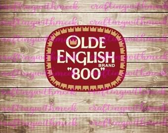 Olde English SVG