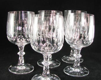 Lead Crystal Goblets Etsy