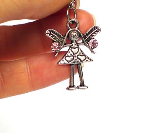 Guardian Angel Necklace Etsy