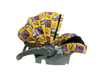 Infant Car Seat Cover-LA Lakers