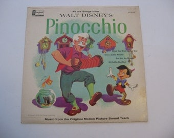 Walt Disney's - Pinocchio - Circa 1959