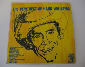 Hank Williams - The Very Best Of Hank Williams - Circa 1963