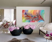 """48"""" x 26"""", ''Dreaming of Spring'', Rolled in a Tube, Custom order"""