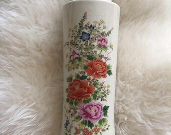 vintage japanese flower vase