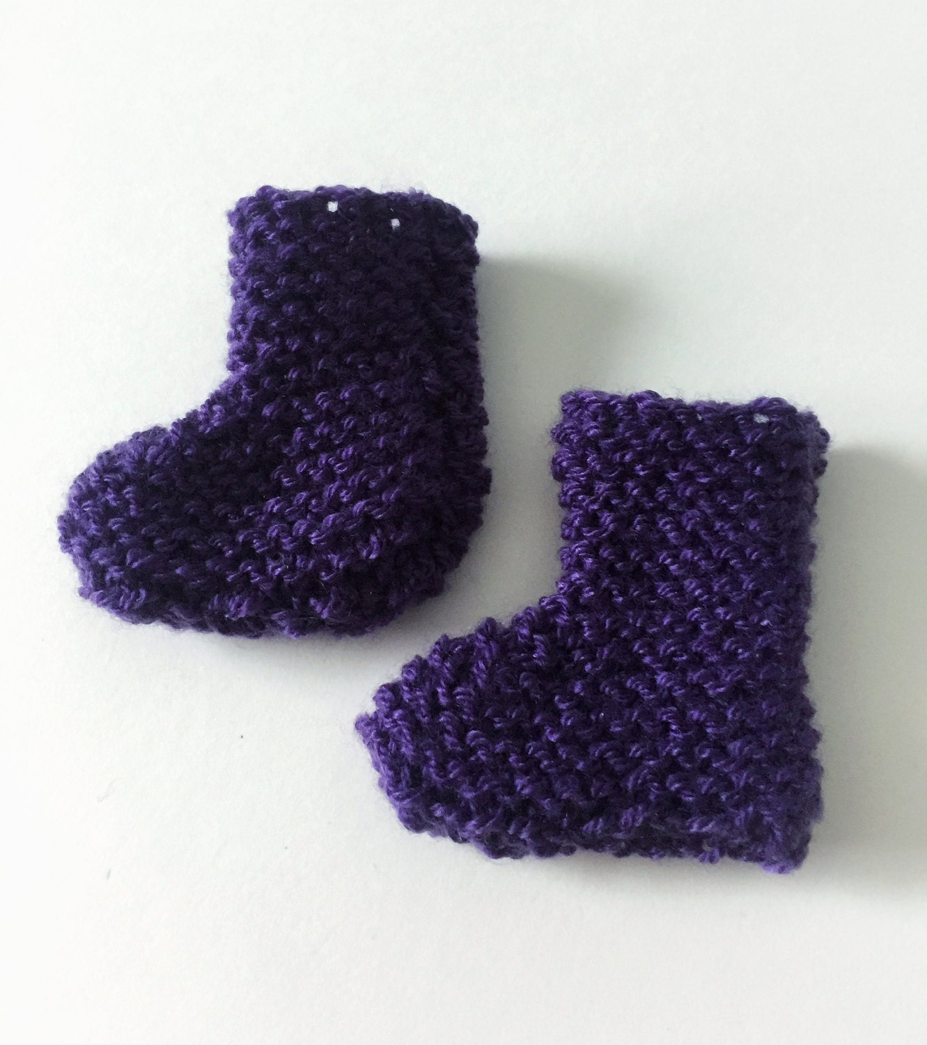Baby Booties Size 3 to 6 Months Baby Socks Knit Booties Cute