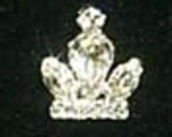 Style # 11889 Rhinestone Crown Pin