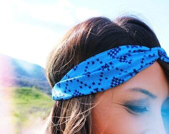 Sari Limited Print Blue Headband