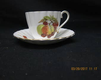 Royal Tuscan Made in England Fine Bone China Cup & Saucer