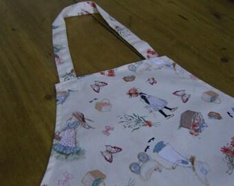 Holly Hobbie Fabric Child's Apron