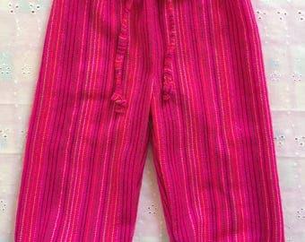 Folkloric traditiomal mexican pants