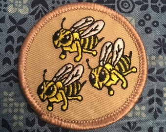 Hornets Patch (1) - girl lisbeth salander three bees kjallraven Hershel stieg larsson