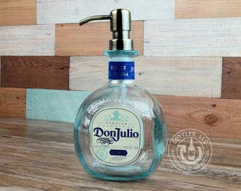 Upcycled Don Julio Tequila Soap Dispenser BL