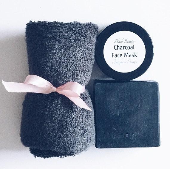 Bamboo Charcoal Acne Mask Oily Skin: Beigetone Soaps