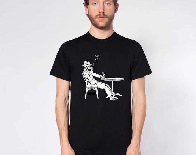 KillerBeeMoto: The Grim Reaper Has Breakfast Short or Long Sleeve T-Shirt