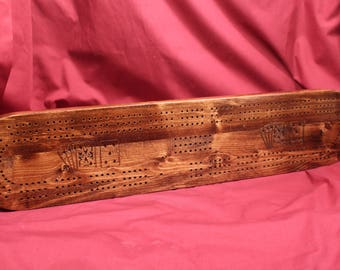 0381 Cribbage Board